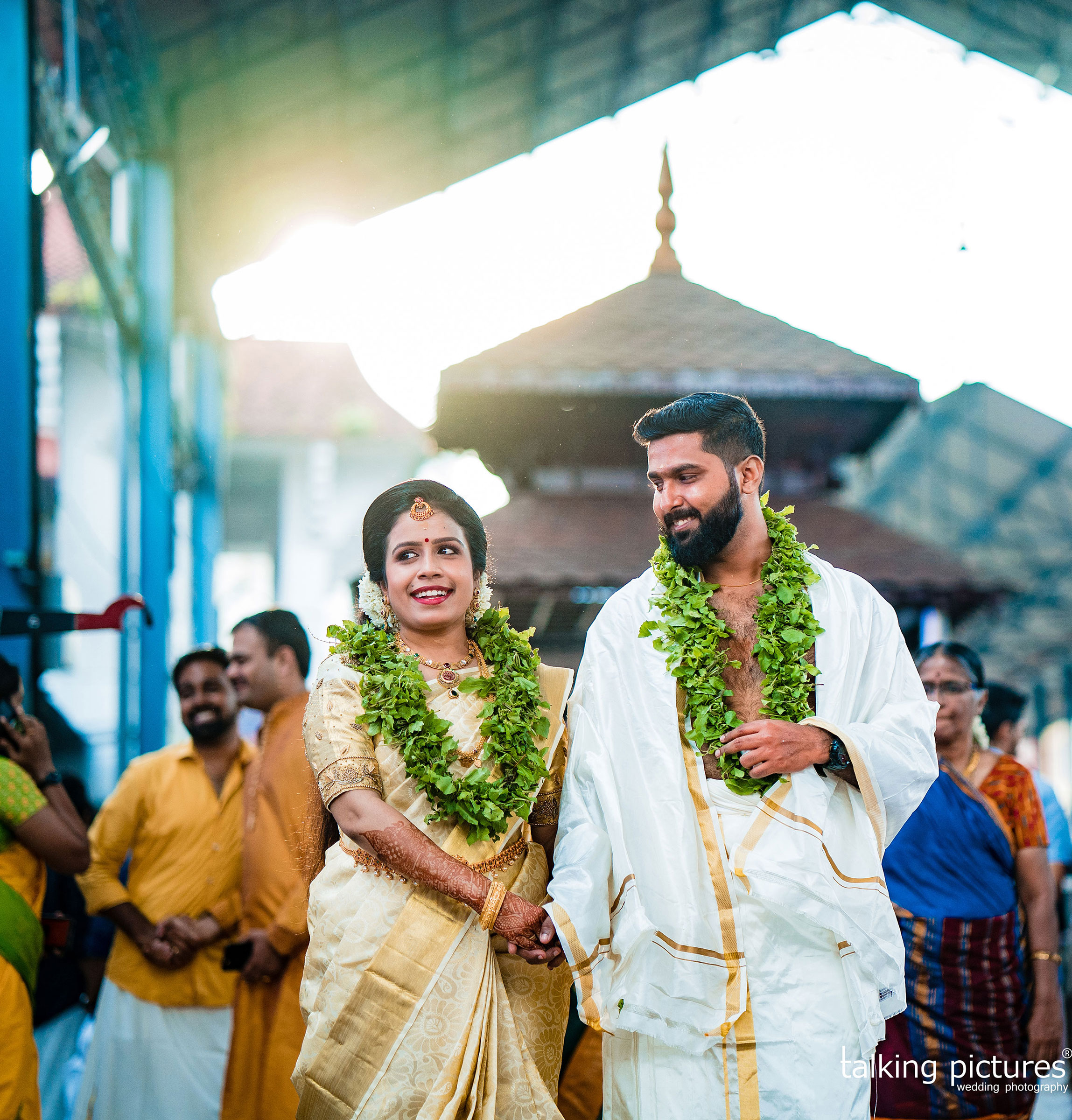 Wedding photographers in Guruvayur
